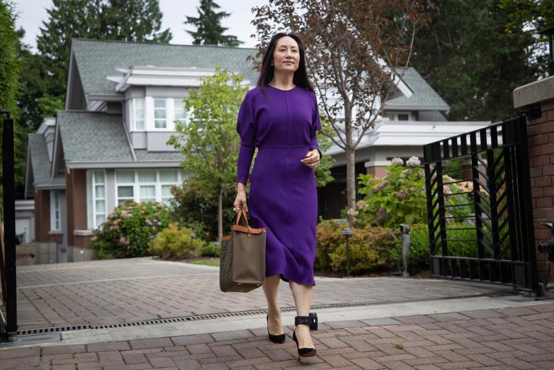 Bà Mạnh Vãn Chu được thả tự do sau thỏa thuận với Mỹ