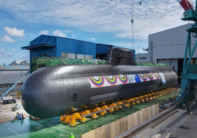 Hàn Quốc hạ thủy tàu ngầm mang tên lửa đạn đạo -0