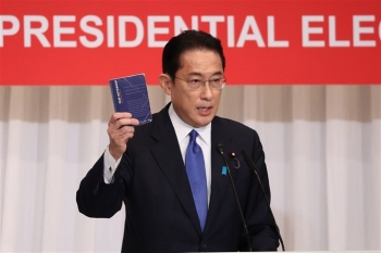 Cựu Bộ trưởng Ngoại giao sẽ trở thành tân Thủ tướng Nhật Bản