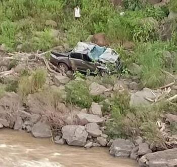 Ô tô rơi xuống vực, 3 thầy cô giáo ở Nghệ An thương vong