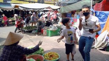 Phan Hiển lần đầu đi chợ nấu cơm, Khánh Thi khen: