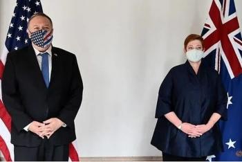 """Ngoại trưởng Mỹ lên án """"hoạt động nham hiểm"""" của Trung Quốc"""
