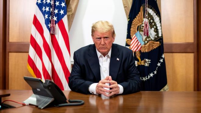 Tổng thống Trump từ chối tham gia tranh luận trực tuyến với Biden - 1