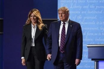 Tổng thống Trump trở lại tranh cử, Đệ nhất phu nhân vẫn