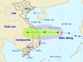 Áp thấp nhiệt đới mạnh thêm, các tỉnh Trung Bộ mưa rất to