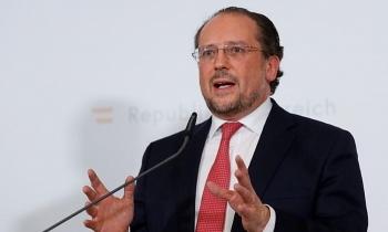 Ngoại trưởng Áo dương tính nCoV sau cuộc họp với EU