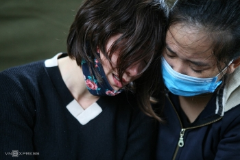 Nước mắt vợ quân nhân Đoàn Kinh tế 337