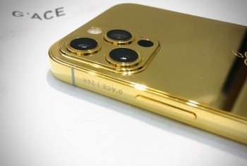 Chiêm ngưỡng phiên bản mạ vàng 24K đẹp xuất sắc của iPhone 12 Pro ở Việt Nam