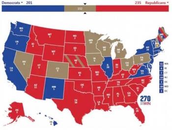 Ông Trump sẽ lại giành chiến thắng phiếu đại cử tri?