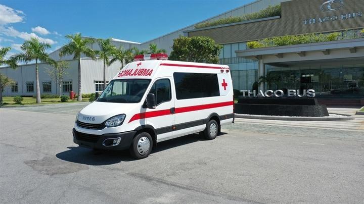 THACO tặng Hà Nội 300.000 kit test nhanh COVID-19 và 30 xe cứu thương