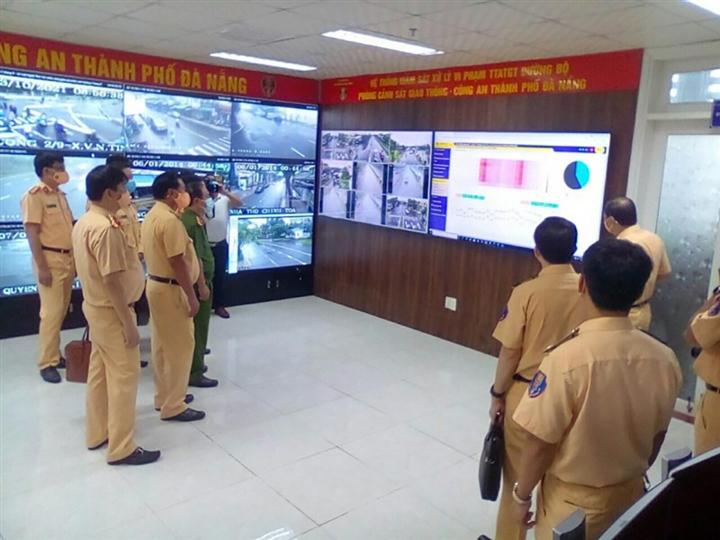 Vận hành hệ thống camera giám sát giao thông trên quốc lộ 1A