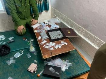 Công an Thái Bình phá đường dây buôn ma túy liên tỉnh, thu giữ súng quân dụng