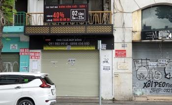 Giá thuê nhà mặt phố lao dốc