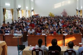 Phản đối bữa ăn bán trú, 300 phụ huynh tự bầu ban đại diện