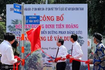 Đề xuất đặt tên 44 tuyến đường ở TP HCM