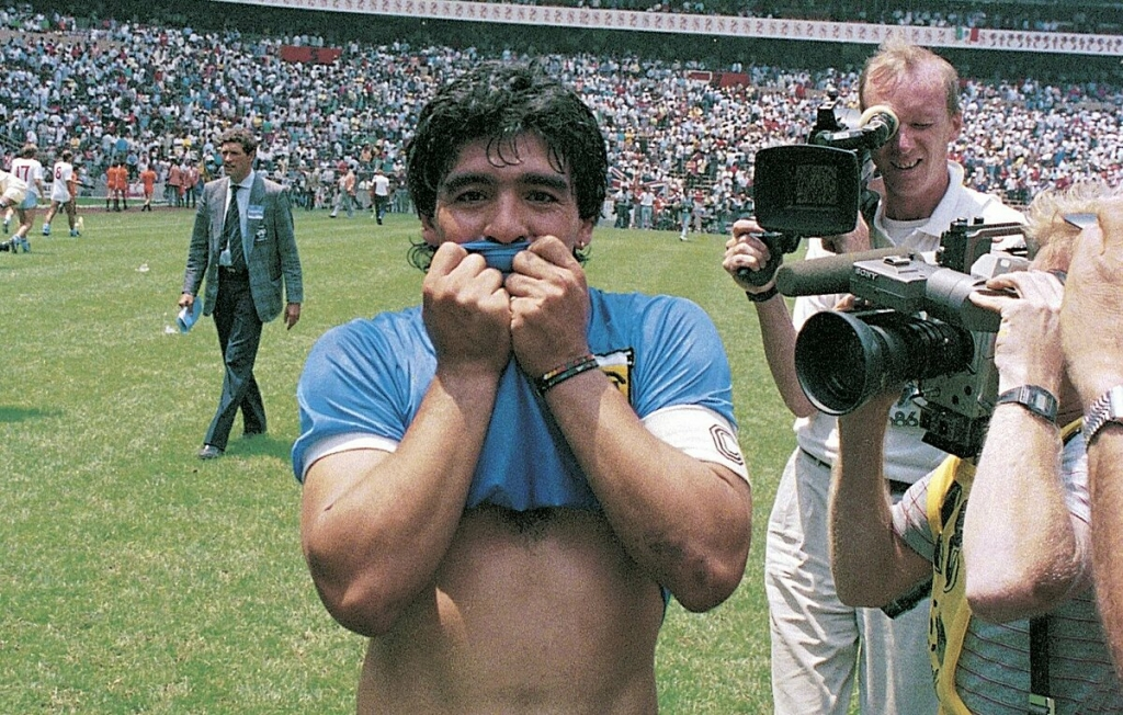maradona bieu tuong bat diet cua argentina