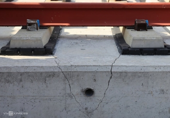 Hai gối cầu Metro Số 1 bị sai hồ sơ thiết kế