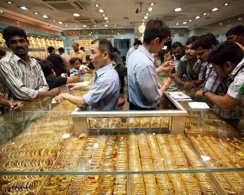 Giá vàng tăng giảm khó lường