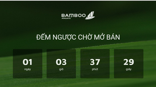 bamboo airways chinh thuc ban ve may bay