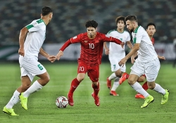 doi tuyen viet nam gap jordan o vong 18 asian cup 2019