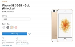 apple xa iphone se ton kho gia 249 usd