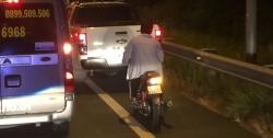 Cao tốc TP.HCM - Trung Lương cũng có hàng trăm xe máy