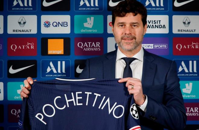 PSG bổ nhiệm HLV Mauricio Pochettino