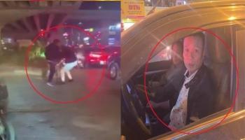 Tìm thấy tài xế đánh gãy răng người nhắc nhở dừng xe gây ùn ứ giao thông