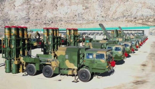 Trung Quốc đưa thêm tên lửa phòng không HQ-16B tới Tây Tạng