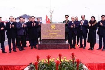 Khành thành nút giao đường vành đai 3 với cao tốc Hà Nội-Hải Phòng