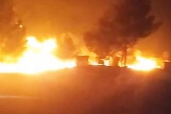Nga dội bom phá hủy đoàn xe chở dầu lậu đang đi từ Syria đến Thổ Nhĩ Kỳ