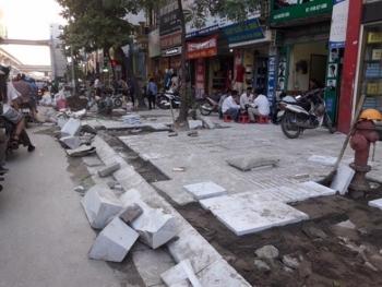 Hà Nội tạm dừng thi công, đào đường dịp Đại hội Đảng XIII và Tết Nguyên đán