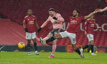 Man Utd thua đội bét bảng Ngoại hạng Anh