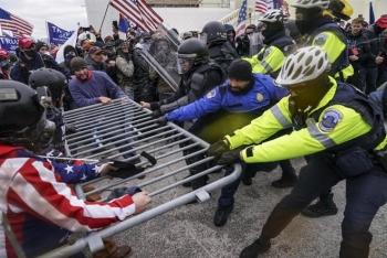 Thêm cảnh sát tự sát sau vụ bạo loạn ở Điện Capitol
