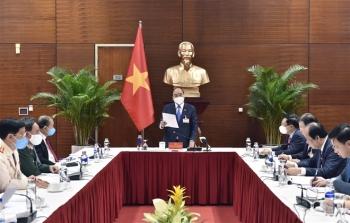 Thủ tướng họp khẩn về COVID-19 tại nơi tổ chức Đại hội Đảng XIII