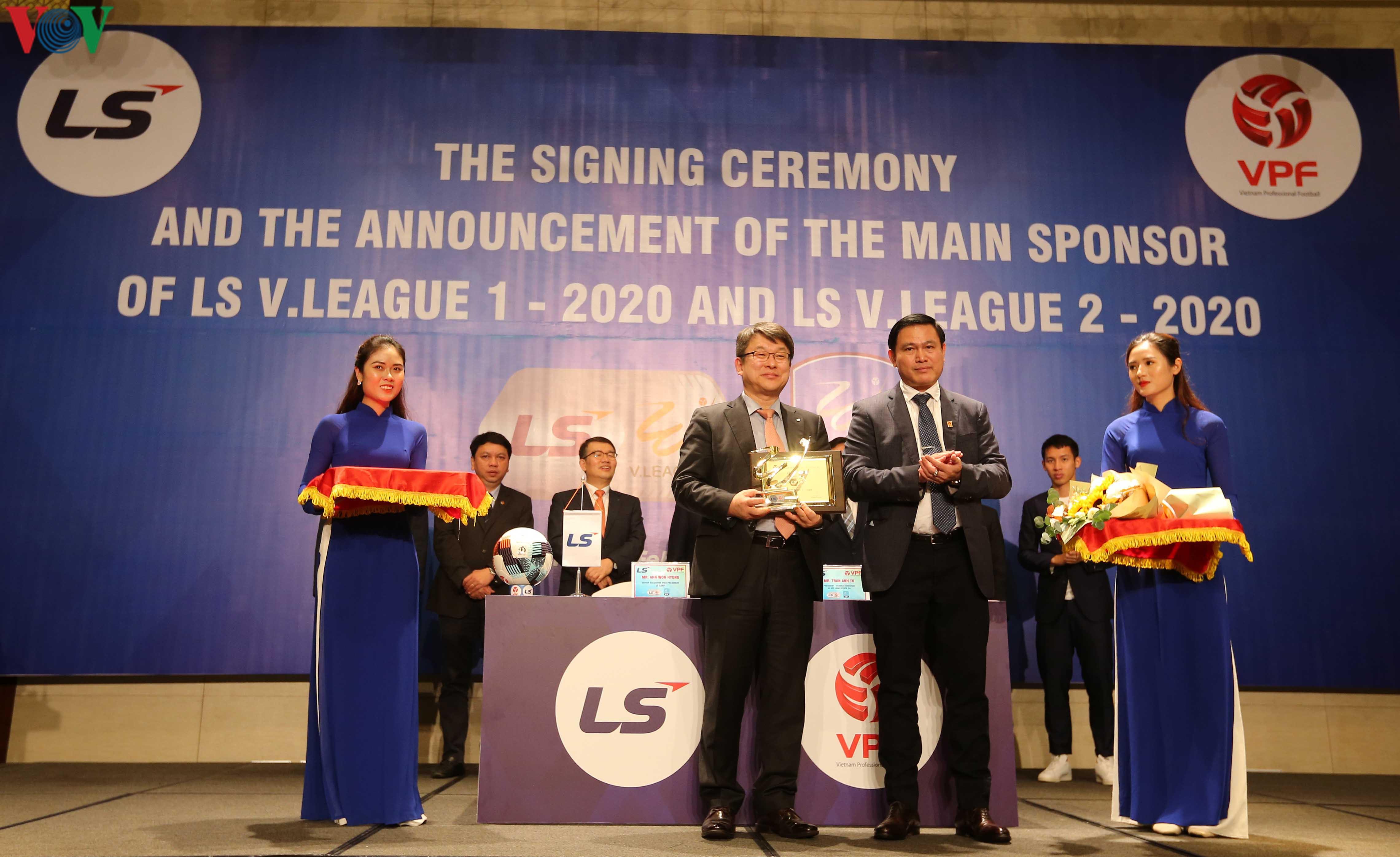 v league 2020 co nha tai tro den tu que huong cua hlv park hang seo