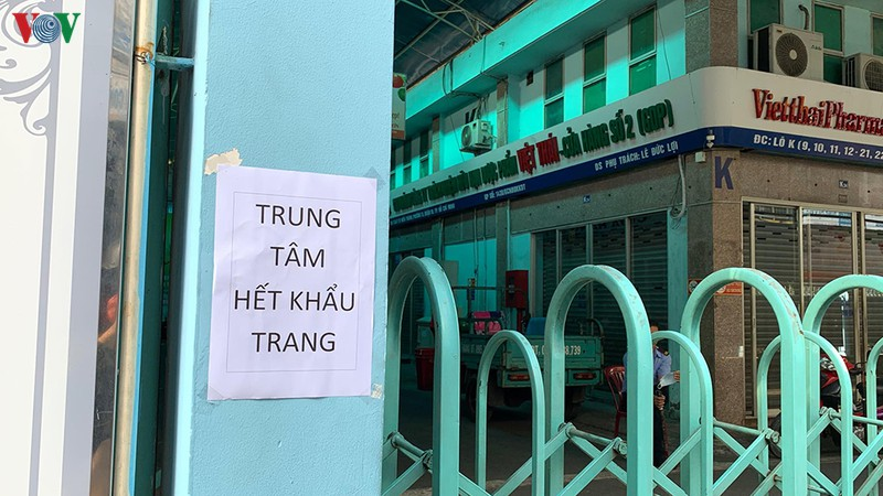 dong nguoi do ve cho thuoc lon nhat tphcm mua khau trang
