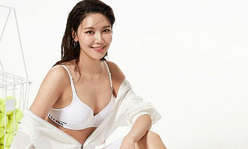 sooyoung snsd lam mau do lot