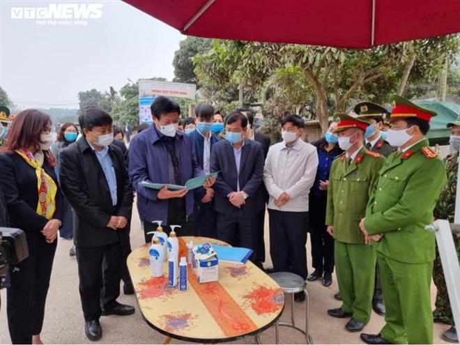 Bắc Giang xác định một trường hợp dương tính với SARS-CoV-2 - 2