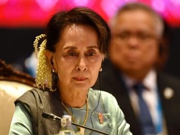 Bà Aung San Suu Kyi lên tiếng sau cuộc đảo chính