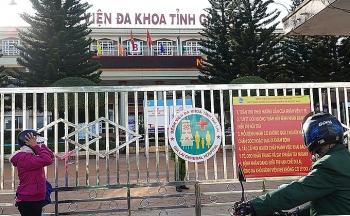 Bệnh viện đa khoa Gia Lai bị phong tỏa
