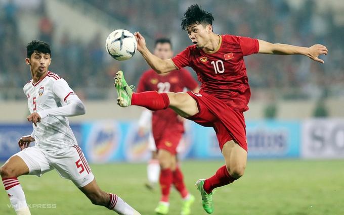 Việt Nam có thể phải đá vòng loại World Cup tập trung ở UAE