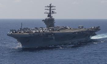 Tàu sân bay Mỹ đến gần Biển Đông