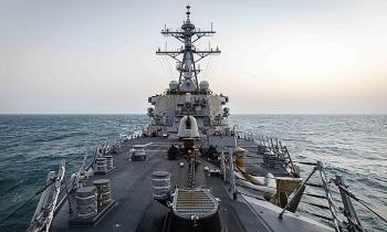 Tàu chiến Mỹ lần đầu áp sát Hoàng Sa thời Biden