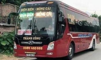 Phạt 8 triệu, tước phù hiệu xe khách Điện Biên chở người dương tính SARS-CoV-2