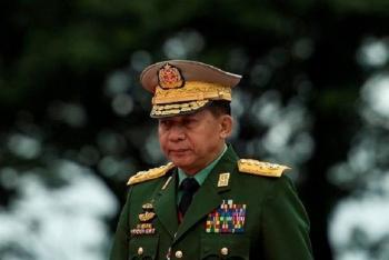 Myanmar: Thống tướng Aung Hlaing cam kết trao trả quyền lực sau bầu cử