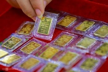 Giá vàng ngày 28 Tết tăng 600.000 đồng một lượng