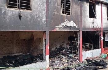 Hà Tĩnh: Cháy nhà sáng mùng 1 Tết, 1 học sinh lớp 4 thiệt mạng