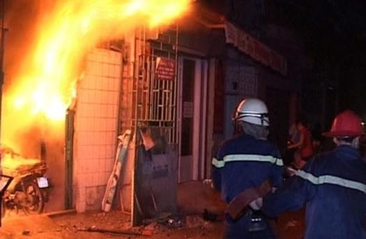 Bắt giữ nam thanh niên gây ra vụ cháy nhà bạn gái rạng sáng mồng 1 Tết