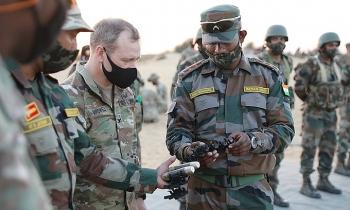 Mỹ - Ấn nối lại tập trận quân sự chung